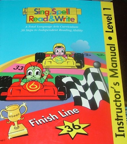 9781567046182: Instructor's Manual for Off We Go and Raceway Books (Sing, Spell, Read and Write, Instructor's Manual, Level 1)