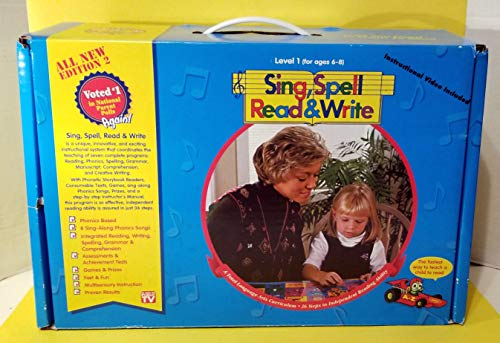 Sing, Spell, Read and Write : Kindergarten: Pearson Education