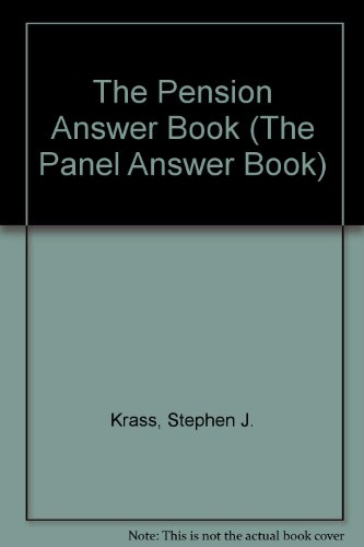9781567060218: The Pension Answer Book (The Panel Answer Book)