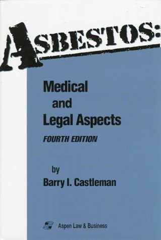 9781567062755: Asbestos: Medical and Legal Aspects