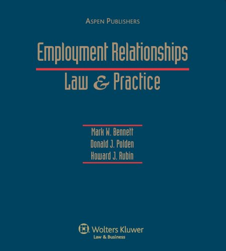 9781567063769: Employment Relationships: Law & Practice