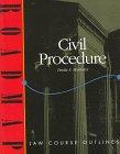 9781567064858: Civil Procedure (Roadmap Law Course Outlines)