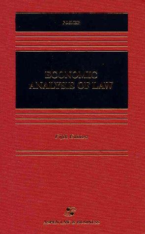 9781567065626: Economic Analysis of Law (Casebook)