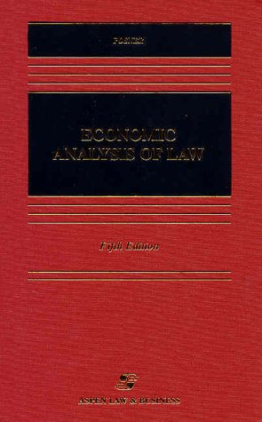9781567065626: Economic Analysis of Law