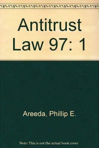 9781567066029: 1: Antitrust Law 97