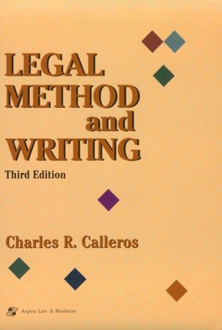 9781567066470: Legal Method and Writing (Legal Research & Writing Text Series)