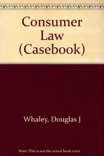 9781567066975: Problems and Materials on Consumer Law (Casebook)