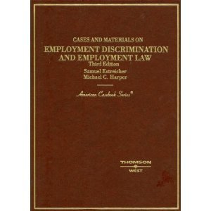 9781567066999: Employment Law and Employment Discrimination: Essential Terms and Concepts (Essentials for Law Students)
