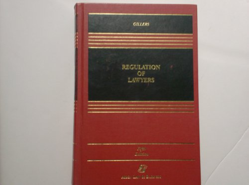 9781567067415: Regulation of Lawyers: Problems of Law and Ethics (Casebook S.)