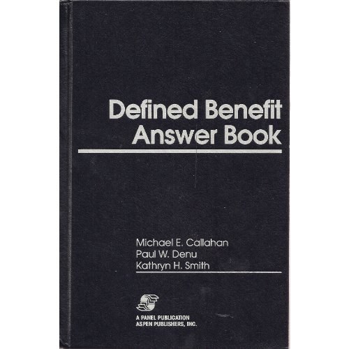 9781567068641: Defined Benefit Answer Book