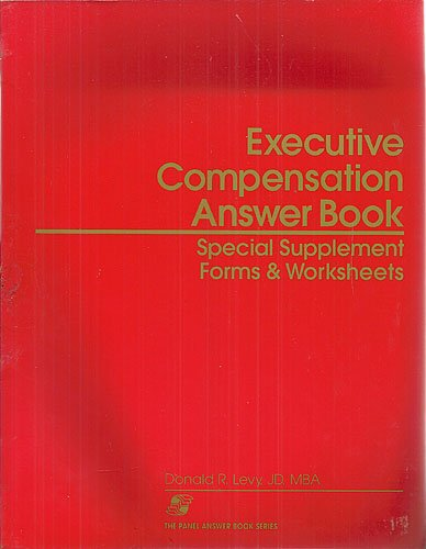 Executive Compensation Answer Sb (The Panel answer: Levy, Donald R,