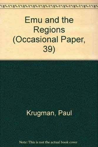9781567080841: Emu and the Regions (Occasional Paper, 39)