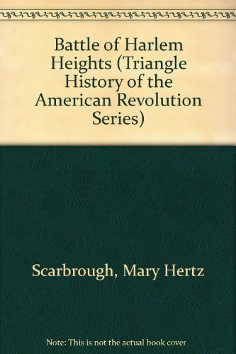 9781567117776: The Battle of Harlem Heights (Triangle Histories of the Revolutionary War: Battles)