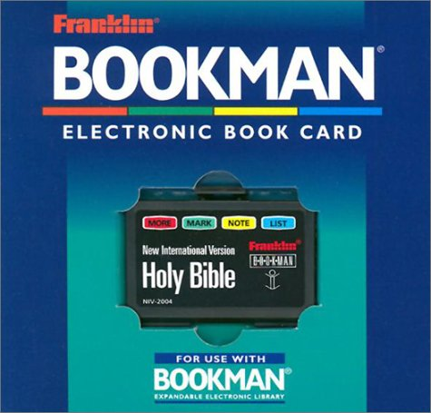 9781567121407: Holy Bible- New International Version (Franklin bookman)