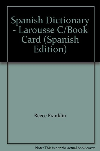 9781567125207: Spanish Dictionary - Larousse C/Book Card (Spanish Edition)