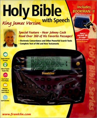 9781567125344: Franklin Holy Bible KJB-1840 Electronic King James Bible