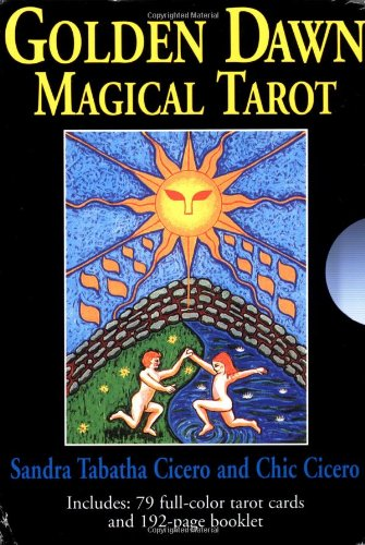 9781567181258: Golden Dawn Magical Tarot Deck