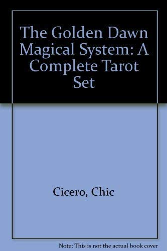 9781567181340: The Golden Dawn Magical System: A Complete Tarot Set