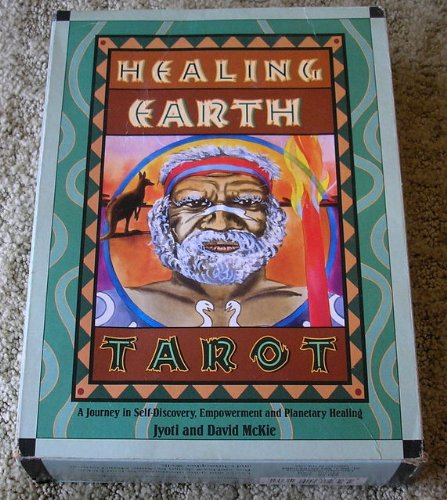 9781567184549: Healing Earth Tarot Kit (Book and Tarot Cards)