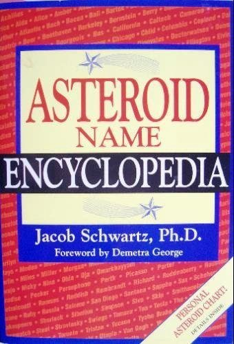 ASTEROID NAME ENCYCLOPEDIA: Schwartz, Jacob