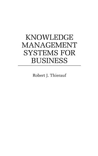 9781567202182: Knowledge Management Systems for Business