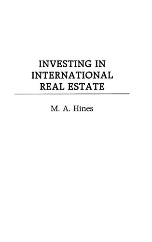 9781567203752: Investing in International Real Estate