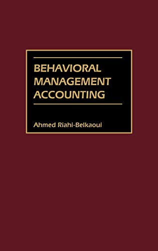 9781567204438: Behavioral Management Accounting