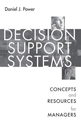 9781567204971: Decision Support Systems: Concepts and Resources for Managers