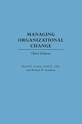 9781567205107: Managing Organizational Change, 3rd Edition