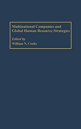9781567205831: Multinational Companies and Global Human Resource Strategies