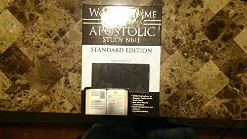 9781567229677: Word Aflame Apostolic Study Bible KJV