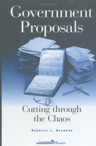 9781567261264: Government Proposals: Cutting Through the Chaos