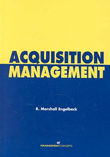 9781567261288: Acquisition Management