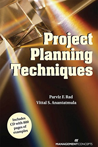 Project Planning Techniques: Rad, Parviz F.,