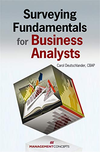 9781567262551: Surveying Fundamentals for Business Analysts