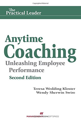 9781567264807: Anytime Coaching: Unleashing Employee Performance