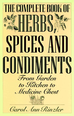 9781567311846: Complete Book of Herbs, Spices and Condiments