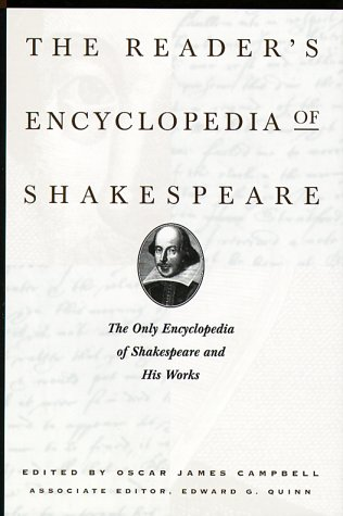 9781567312577: The Reader's Encyclop0Edia of Shakespeare