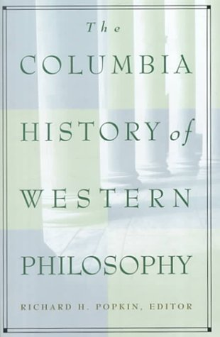 9781567313475: The Columbia History of Western Philosophy