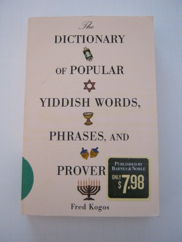yiddish words and phrases