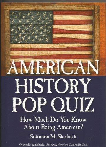 9781567318418: American History Pop Quiz