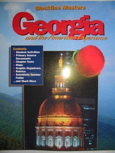 9781567331028: Blackline Masters Georgia and the American Experience