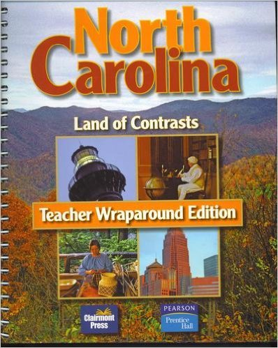 9781567331905: North Carolina--Land of Contrasts (Teacher Wraparound Edition