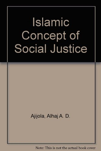 9781567443059: Islamic Concept of Social Justice