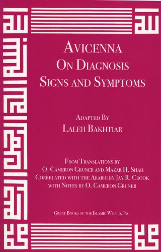 Avicenna On Diagnosis Signs and Symptoms from Canon of Medicine Volume 1: Abu 'Ali al-Husayn ibn ...