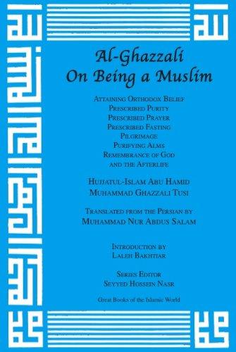 9781567448139: Al-Ghazzali On Being a Muslim