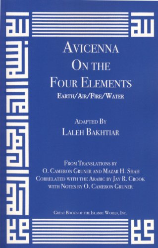 9781567449907: Avicenna On the Four Elements from the Canon of Medicine Volume 1