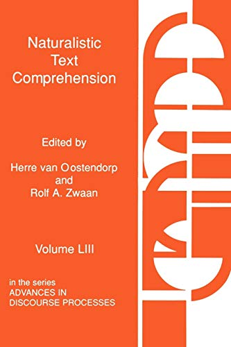 9781567501254: 053: Naturalistic Text Comprehension (Social and Policy Issues in Education)