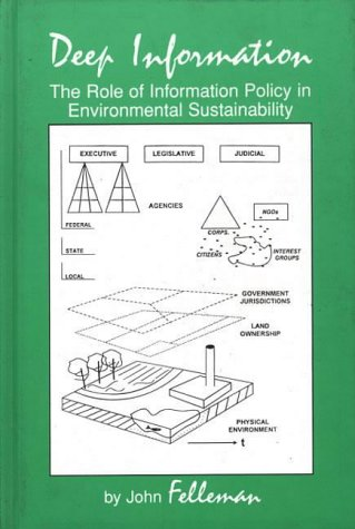 9781567503036: Deep Information: The Role of Information Policy in Environmental Sustainability (Ablex Information Management, Policies & Services)