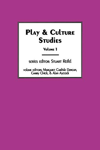 9781567503715: Play & Culture Studies, Volume 1: Diversions and Divergences in Fields of Play (Vol 1)